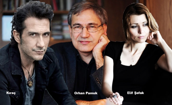 Kıraç, Orhan Pamuk ile Elif Şafak'ı Gömdü