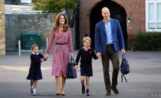 Prenses Charlotte'nin, Kraliçe Elizabeth'e olan benzerliği gündem oldu