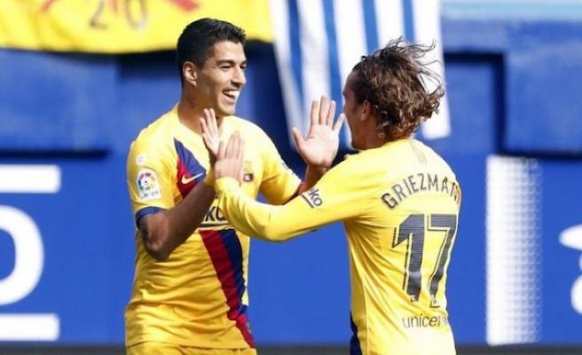 Barcelona yıldızlarıyla güldü