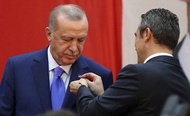 Erdoğan, Fenerbahçe Yüksek Divan Kurulu Üyesi oldu
