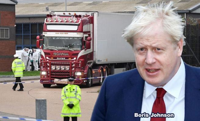 İngiltere Başbakanı, tırda bulunan 39 ceset için ilk kez konuştu