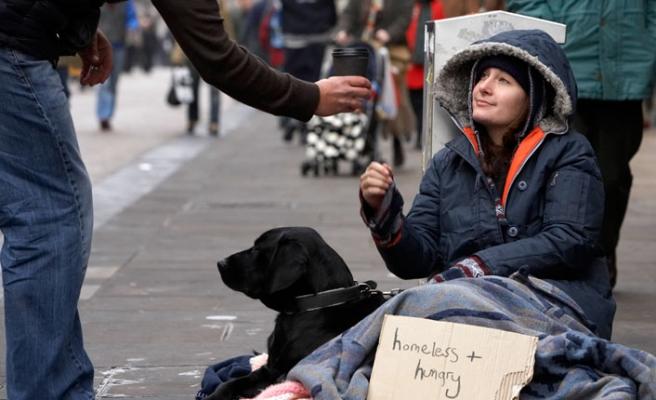 Londra'da sokakta yatanlarda rekor artış