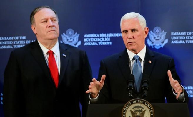Mike Pence'den Ankara'da, 'Suriye İçin Anlaştık' Açıklaması