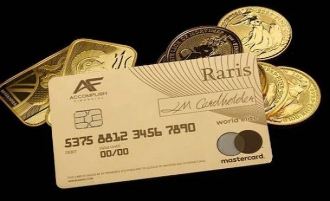 Süper zenginler için dünyanın ilk gerçek altın kartı