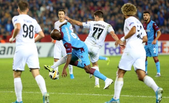 Trabzonspor evinde Krasnodar'a kaybetti
