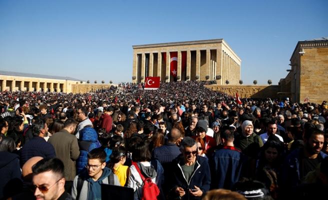 Atatürk Ebediyete İntikalinin 81. Yılında Törenlerle Anılıyor