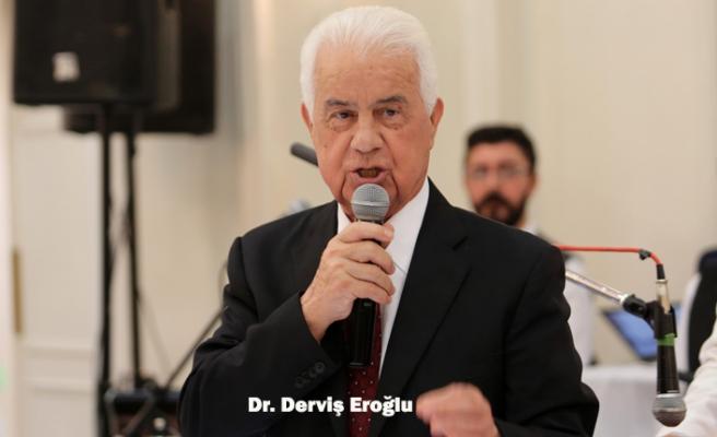 Derviş Eroğlu Londra'da Konuştu: Kıbrıs'ta barış beklemek aptallık