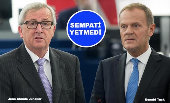 AB'de görevi biten Juncker ve Tusk enkaz devretti