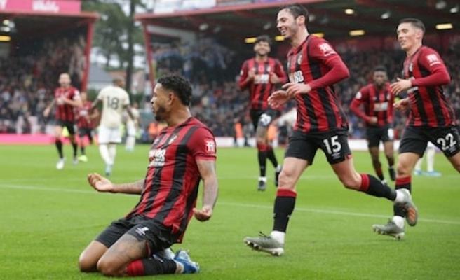 Manchester United, deplasmanda Bournemouth'a 1-0 yenildi