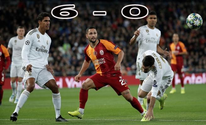 Real Madrid Oynadı, Galatasaray Seyretti
