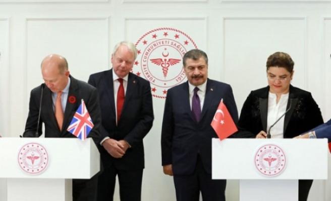 Türkiye ile Birleşik Krallık arasında sağlık alanında iş birliği