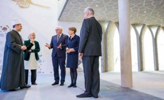 Almanya Cumhurbaşkanı Steinmeier Penzberg Camisi'ni ziyaret etti