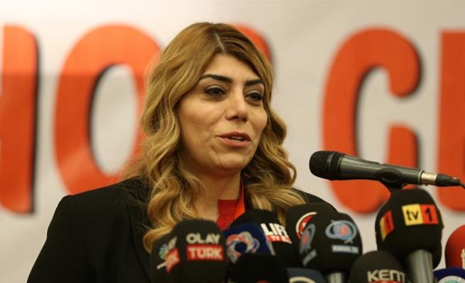 Kayserispor'da Berna Gözbaşı başkan