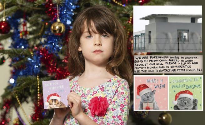 """Noel kartındaki """"Çin İşkencesi"""" notu Tesco'yu harekete geçirdi"""