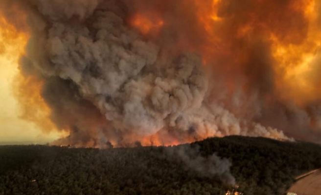 Avustralya'daki yangınlar 'hava sıcaklığını düşürebilir'