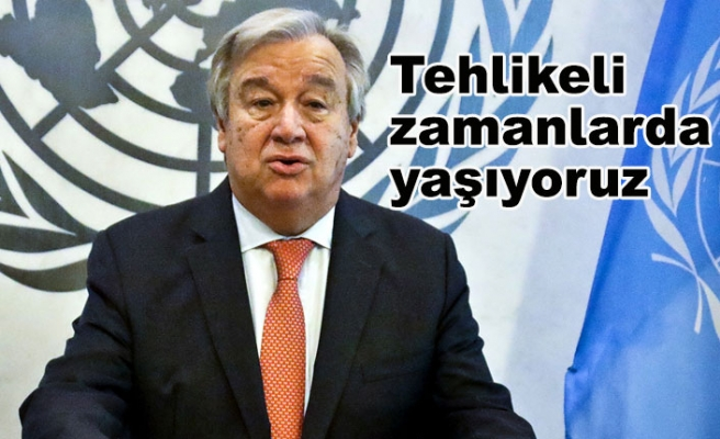 BM Genel Sekreteri Antonio Guterres Endişeli