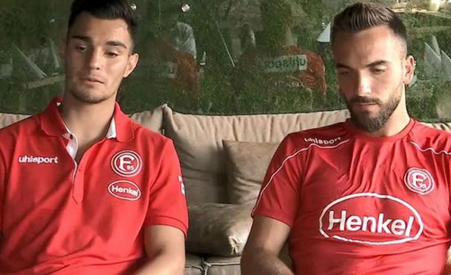 Fortuna Düsseldorflu Kaan Ayhan ve Kenan Karaman'dan transfer açıklaması
