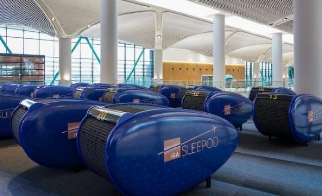 İstanbul Havalimanı'nda uyku kabini hizmeti başladı