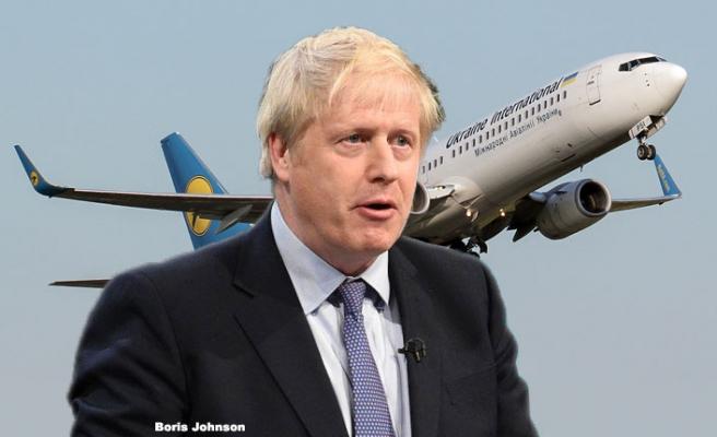 Johnson, düşürülen Ukrayna uçağı için uluslararası soruşturma istedi