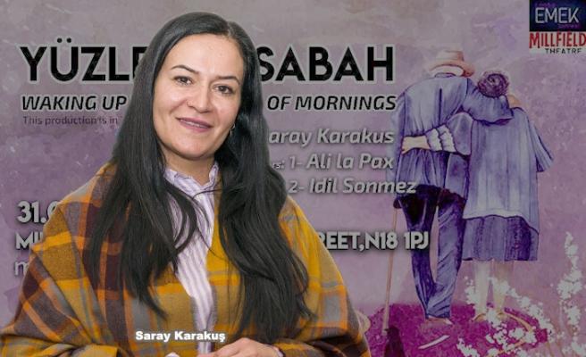 Saray Karakuş'un Yazdığı 'Yüzlerce Sabah' Oyunu Seyirciyle Buluşuyor