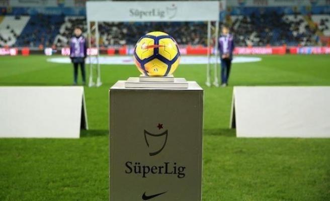 Süper Lig'de 5 haftalık program belli oldu
