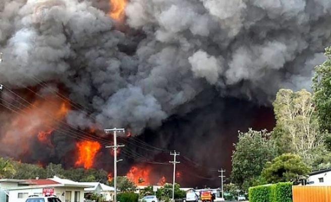 Avustralya'da yangınlar nedeniyle halka sığınaklara girme çağrısı yapıldı