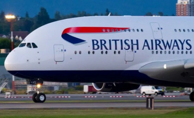 British Airways uçağı Atlantik'i geçme rekoru kırdı