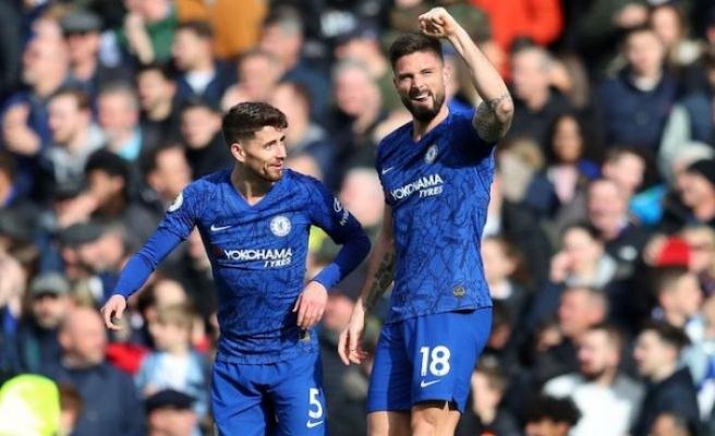 Chelsea, Tottenham'ı iki golle yendi