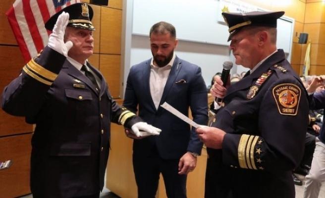New Jersey'de bir Müslüman daha üst düzey polis şefliğine atandı
