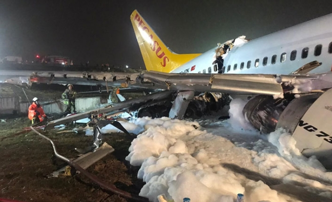 Pistten Çıkan Uçaktan Son Haber