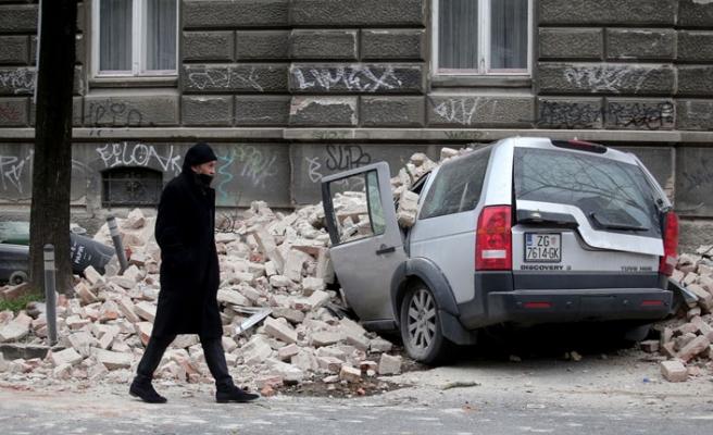 Hırvatistan Depremle Güne Uyandı