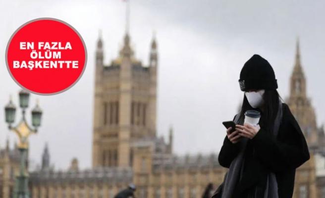 Koronavirüsten En Çok Ölüm Londra'da