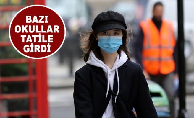 Londra'da Bazı Okullarda Koronavirüs Tatili