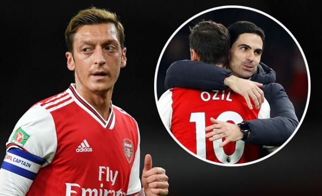 Teknik direktöründe koronavirüs çıkan Mesut Özil'den yorum