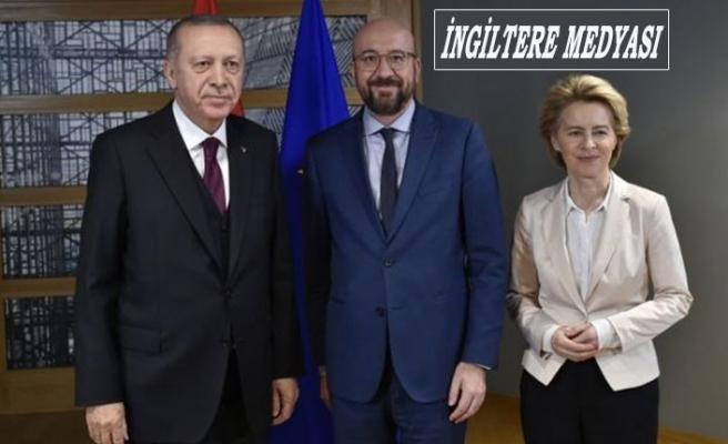 Times: Erdoğan Brüksel'de Masayı Terketti