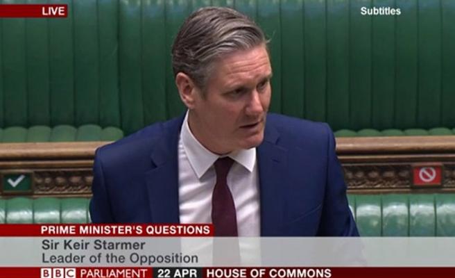 İngiliz Muhalefet Lideri Starmer, İlk Oturumda Hükümete Yüklendi