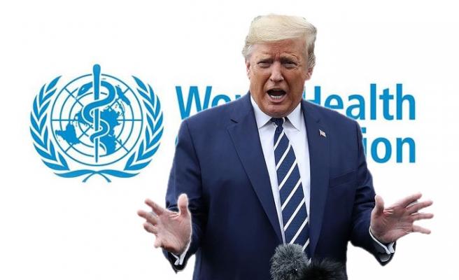 Trump, Dünya Sağlık Örgütüne sağlanan fonu askıya aldı