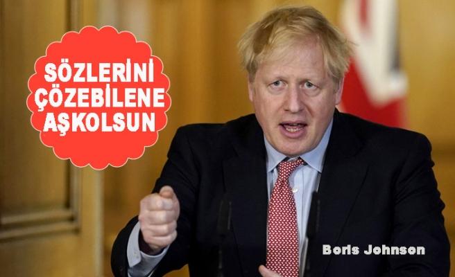 Halk, Boris Johnson'ın Ne Dediğini Anlamadı!