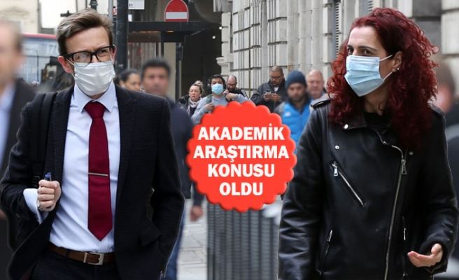 İngiltere'de Kadınlar mı Erkekler mi Maske Takıyor