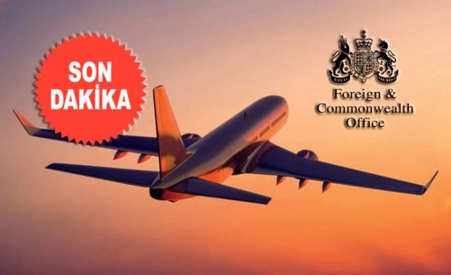 İngiltere'den Türkiye Uçuşları Açıklaması