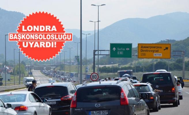 Karayoluyla Türkiye'ye Tatile Gideceklere Önemli Uyarı!