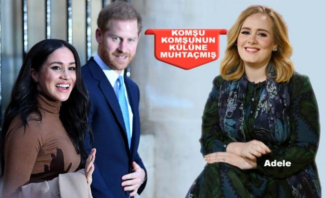 Harry ile Meghan, Adele'ye Komşu Oldu