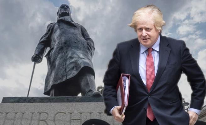 Boris Johnson, Churchill'e Sahip Çıktı