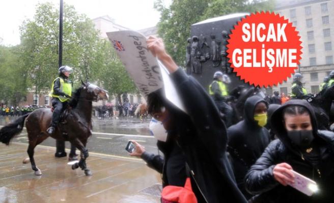 Londra'da Olaylı George Floyd Gösterisi!