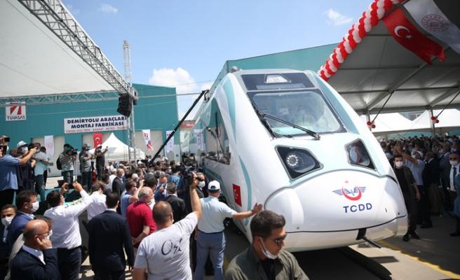 Milli Elektrikli Tren Seti'nin Fabrika Testlerine Başlandı