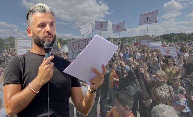 Almanya'ya 'Çocuğumu Geri Ver' Protestosu