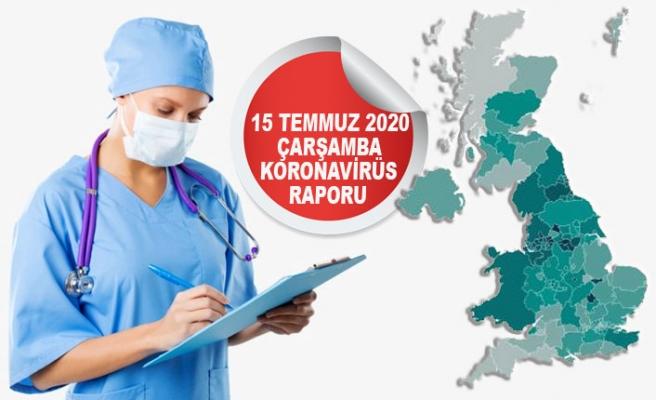 İngiltere'de Koronavirüsten Ölenler 45 Bini Geçti