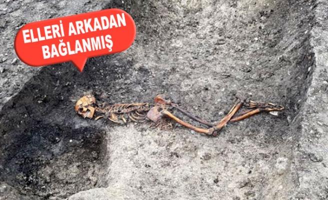 İngiltere'de Demiryolu Kazısı, 2500 Yıllık 'Cinayet'i Ortaya Çıkardı