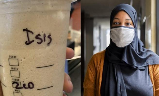 Starbucks'ta 'Ayşe' yerine 'IŞİD' yazılan Müslüman kadın dava açtı