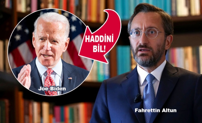 Biden'e Ankara'dan Anladığı Dilden Cevap
